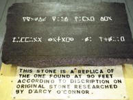 Translation of the Oak Island Flagstone by Keith Ranville.