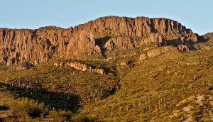 A site on Apache Mountain, where many Apache warriors jumped to their deaths in order to avoid the U.S. cavalry, may soon overlook a copper mine.