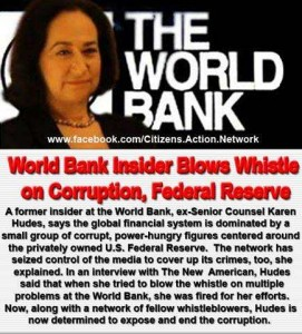 Karen Hudes World Bank Whistle Blower.